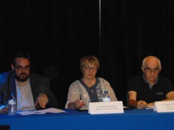 Une Ag qui s'est déroulée en présence d'élus des communes voisines et de yann Fremeaux (à gauche) délégué fédéral au sein de la Fédération régional des MJC.