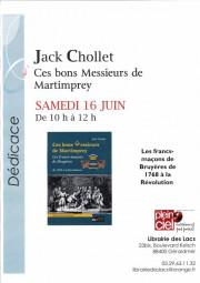 Dédicace Chollet