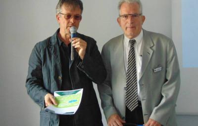 Bruno Poisat & Christian Manfredi ont animé cet Eductour avec Félicie Géhin, salariée de l'OTI Intercommunal