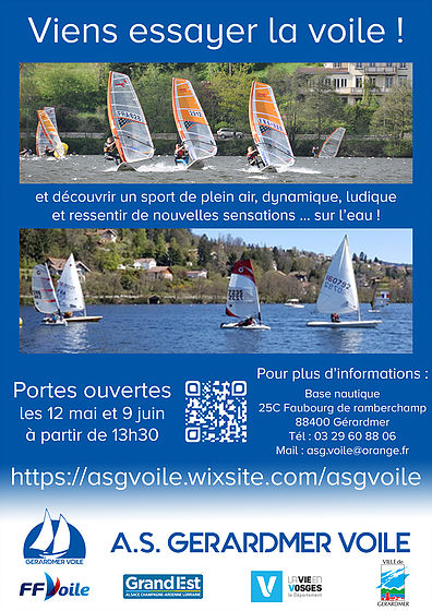 flyers voile portes open