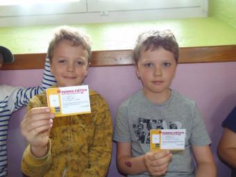 Arthur & Lloyd ont réalisé un sans faute lors de l'examen !