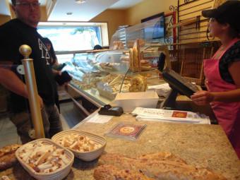 La boulangerie gérômoise fait partie des premiers commerces à profiter du dispositif mis à disposition par le Département.