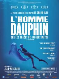 L HOMME DAUPHIN SUR LES TRACES DE JACQUES MAYOL AFFICHE