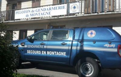 Peloton de gendarmerie de secours en montagneresized