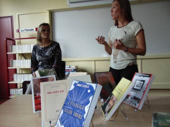 Cathy Rousel & Françoise Creusot encadre ce projet littéraire.