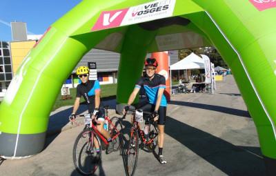 Deux jeunes coureurs venus de Metz pour participer à cette Rando