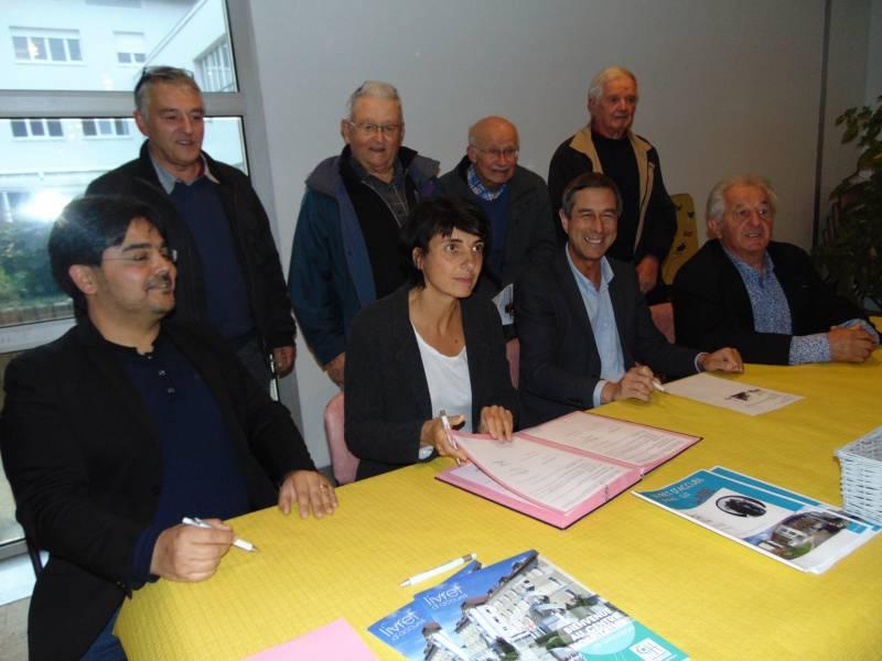 La convention avait le Centre Hospitalier avait été signée en octobre 2018 en présence du maire gérômois et des représentants de l'ARS.