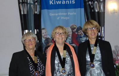 Passation Perle d'hugo kiwanis
