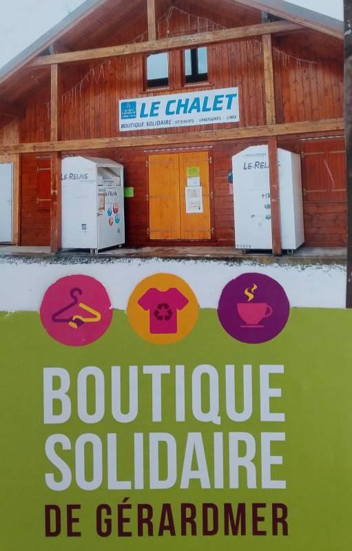 La rentrée des classes approche : la boutique solidaire «le Chalet» sera ouverte mercredi 21 août