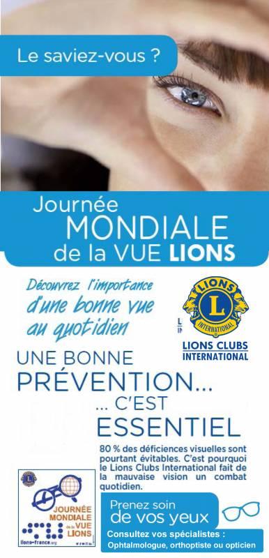 journee mondiale vue lions club gérardmer