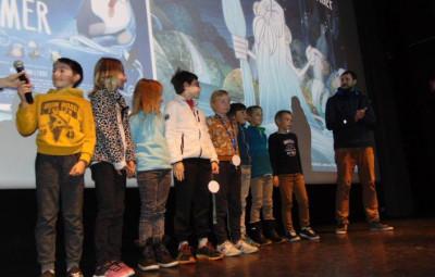 Les écoliers des Bas-Rupts étaient présents pour remettre leur prix !