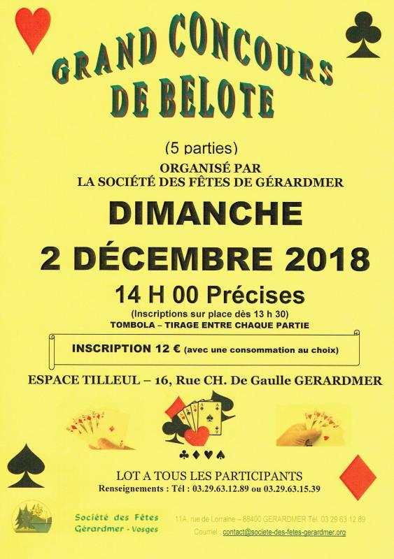 Affiche belote 201812112018