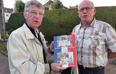 Gilles Durand & Patrick Mény du club cartophile gérômois