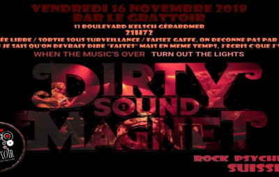 dirty sound grattoir