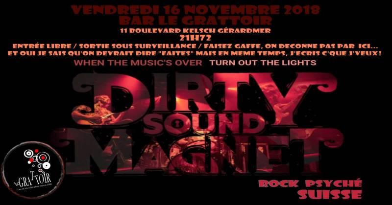 dirty sound grattoir