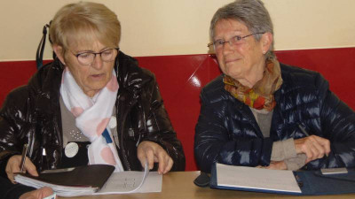 La présidente Lilia Boch (à droite sur la photo)