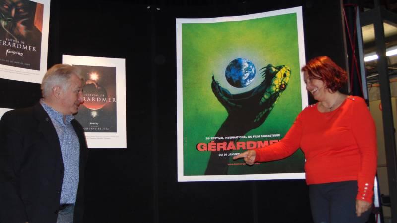 affiche festival de gérardmer 2019 26eme édition