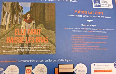 sets de table secours catholique