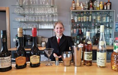 Olga Lorrain barman trophées Calvados