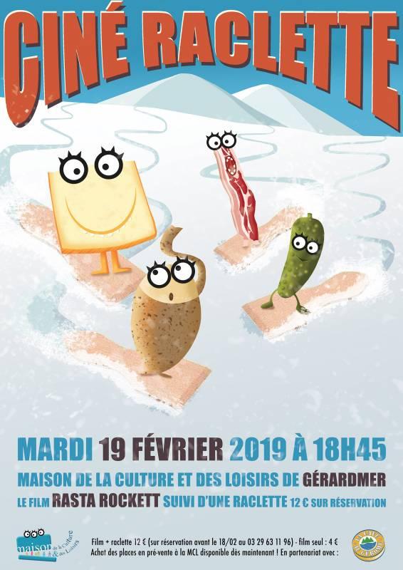 Raclette ciné MCL Gérardmer