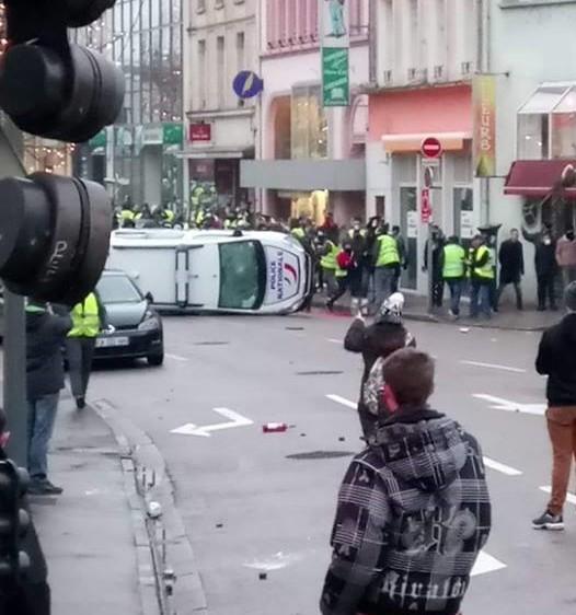 police retourné