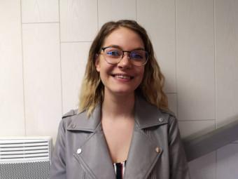 """Honorine Michel : 18 ans, de Xonrupt, actuellement en mention complémentaire """"desserts sur assiette"""" au CFA du lycée JBS Chardin"""