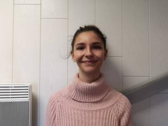 Mary Defranoux : 18 ans, de Gérardmer, élève de TL à la Haie Griselle, aime le dessin et les animaux.