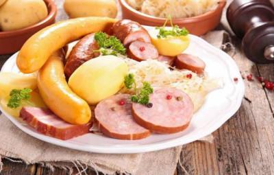 repas cimes argentees choucroute