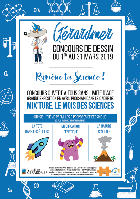 concours dessin mix'ture 2019