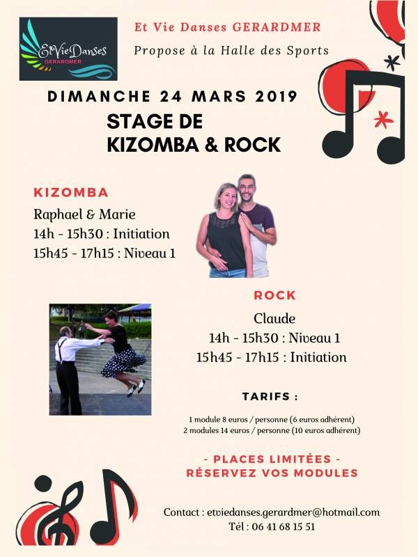 Flyer Rock Kizomba