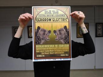 Rappelons que l'affiche du festival à était confiée cette année à l'artiste Marianne Blanchard.
