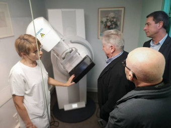 Le nouveau mamographe qui n'était qu'une première étape a récemment été inauguré
