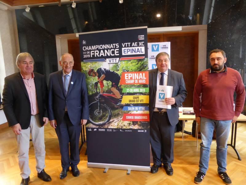 Remise du label « Terre d'excellence cyclisme »