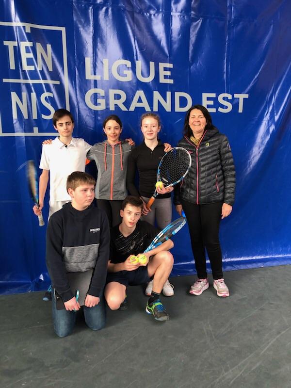 UNSS tennis la haie griselle