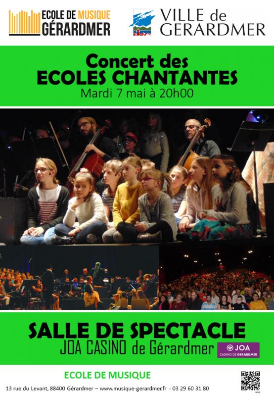 7 mai écoles chantantes