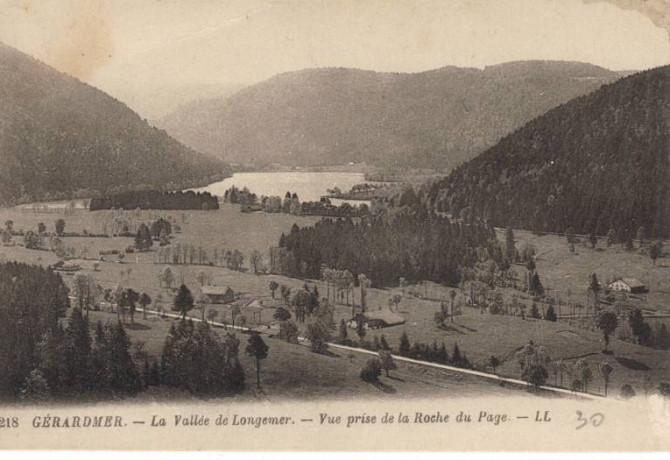 Vue lac depuis la Roche du Page