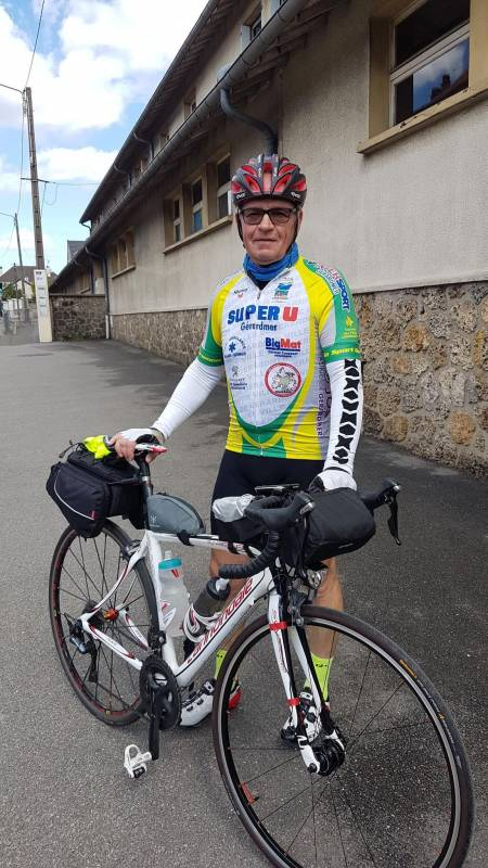 Yves PARISSE participant au BRM 400 Paris le Havre