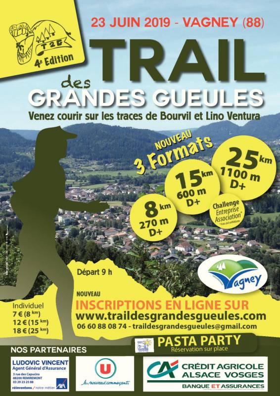 4ème Trail des Grandes Gueules ce dimanche 23 juin