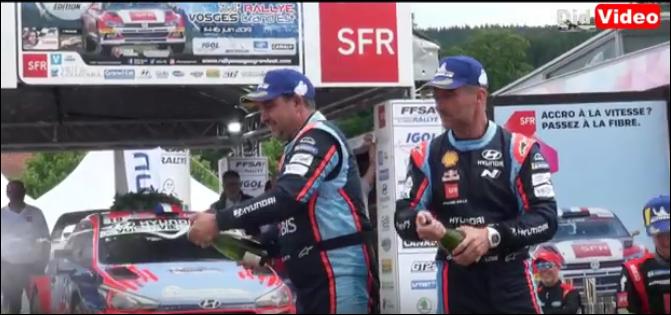 Rallye Vosges Grand Est – ambiance de la course