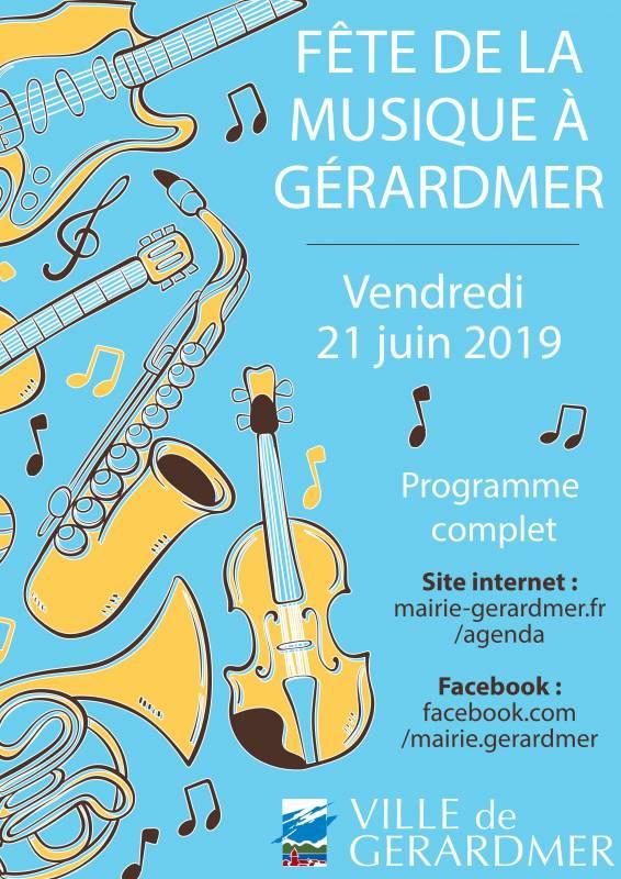 fete de la musique 2019 gérardmer