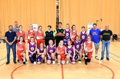 finales U15 féminines basket