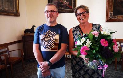 Stéphane Mansuy et Marie-Claude Breyer