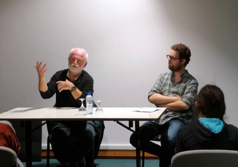 Jean-Claude Servais en compagnie d'Arnaud Schilling.