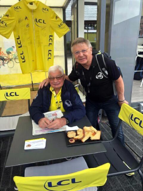 Poupou raymon poulidor VSG JC Ruer tour de France