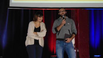 Emilie & Baptiste, parents d'Emile à l'origine des 24H de l'ergo organisé avec l'ASG Aviron.