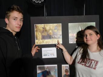 Bravo à Manon et Gaël, vainqueur de la catégorie lycée.