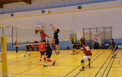 asg volley vs chaumont