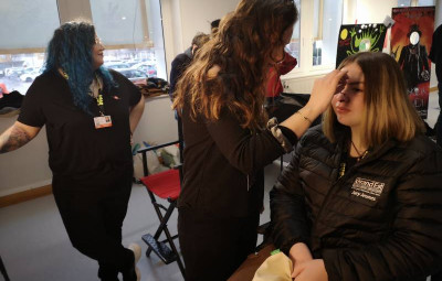 Make up forever academy festival de Gérardmer (2)