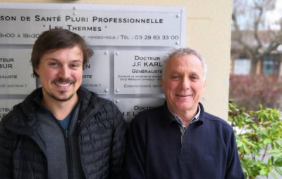Jean-Françoi Karl succède à Jean-Philippe Koch à la maison médicale pluri-professionnelle.