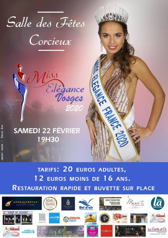 affiche election miss elegance 2020